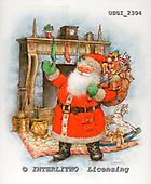 GIORDANO, CHRISTMAS SANTA, SNOWMAN, WEIHNACHTSMÄNNER, SCHNEEMÄNNER, PAPÁ NOEL, MUÑECOS DE NIEVE, paintings+++++,USGI2304,#X#