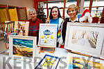 Christa Von Hof, Gráinne Earley and Bernadette Earley, Tralee Art Group Sale of Work at Baile Mhuire on Sunday last.