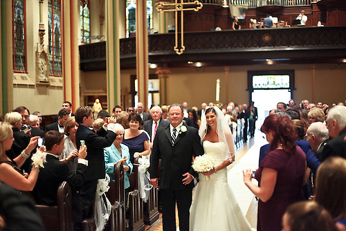 Wedding.St. Monica's in NYC and Trump National Golf Club