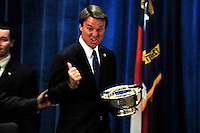 John Edwards, Former Senator, North Carolina.  At The Young Democrats Of North Carolina 80th Anniversary State.Convention In Durham North Carolina..At The Sheraton Imperial Hotel .March 29, 2008..He Received An Award/Spoke