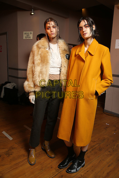 EACH x OTHER<br /> Paris Fashion Week Fall Winter 2016<br /> Paris, France, February 29, 2016.<br /> CAP/GOL<br /> &copy;GOL/Capital Pictures