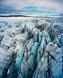 GREENLAND, the Ilulissat Icefjord located in the West Coast of Greenland