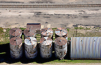 Clayton, New Mexico.  Silos.  Sept 2013. 84030