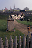 AJ4378, Fort Stanwix, Rome, Fort Stanwix National Monument, New York, Fort Stanwix Nat'l Monument in Rome in the state of New York.
