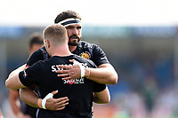 Don Armand of Exeter Chiefs looks on during the pre-match warm-up. Gallagher Premiership match, between Exeter Chiefs and Leicester Tigers on September 1, 2018 at Sandy Park in Exeter, England. Photo by: Patrick Khachfe / JMP