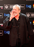 Terry Gilliam posses in the photocall of the 61 San Sebastian Film Festival, in San Sebastian, Spain. September 20, 2013. (ALTERPHOTOS/Victor Blanco) /NortePhoto