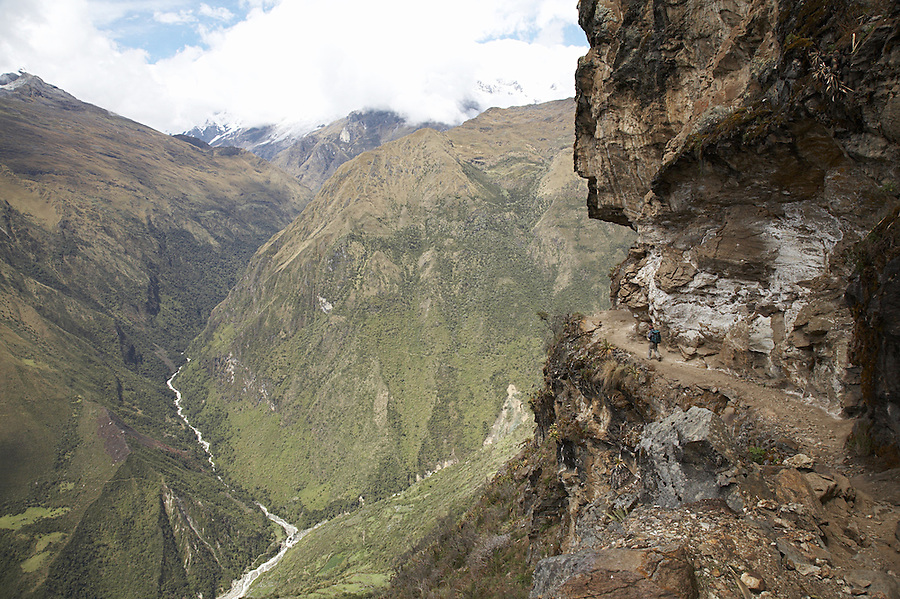 Trek from the remote Incan ruins of Choquequirao through to Aguas Calientes and the ruins of Machu Picchu in the district of Cusco, Peru.