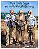 Thank You John Mooney for your over 3 decades of support for The Amateur Riders Club of America  presentation by Duncan Patterson & Don Yovanovich at Delaware Park on 9/12/16