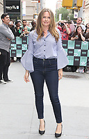 NEW YORK, NY - JUNE 5: Alicia Silverstone spotted arriving at 'Build Series' to promote the television series 'American Woman' in New York, New York on June 5, 2018.  <br /> CAP/MPI/RMP<br /> &copy;RMP/MPI/Capital Pictures