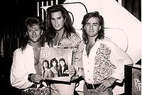 Montreal (Qc) CANADA - Niv 14 1988 File Photo - Les BB album launch
