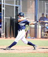 James Darnell / San Diego Padres 2008 Instructional League..Photo by:  Bill Mitchell/Four Seam Images