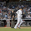 Masahiro Tanaka (Yankees), JUNE 9, 2015 - MLB : New York Yankees starting pitcher Masahiro Tanaka goes to the mound during a baseball game against the Washington Nationals at Yankee Stadium in New York, United States. (Photo by AFLO)
