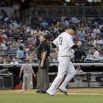 Masahiro Tanaka (Yankees), JUNE 9, 2015 - MLB : New York Yankees starting pitcher Masahiro Tanaka goes to the mound during a baseball game against the Washington Nationals at Yankee Stadium in New York, United States. (Photo by AFLO)