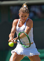 England, London, Juli 04, 2015, Tennis, Wimbledon, Camila Giorgi (ITA)<br /> <br /> Photo: Tennisimages/Henk Koster