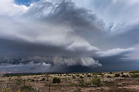 Supercell thunderstorm in Texas, May 26, 2014