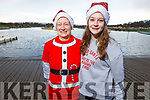 Aine and Sarah Brosnan at the Fiona Moore Memorial 5k Fun Run in the Tralee Bay Wetlands on Sunday morning.