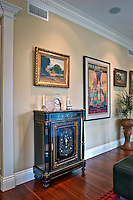 Luxury, Interior, contemporary, living room, fireplace, artwork, Photo, residential, life, style