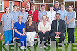 MANAGEMENT TEAM: Staff from Our Lady of Lourdes, Kilcummin, with their new management team who took over the retirement home last Monday. Front row l-r: Carmel ORiordan, Maggie Murray, Eileen Connor and Rod Murray. Back row l-r: Joan Brosnan, Mary Walsh, Kathleen Culloty, Rose Maher, Tony OConnor, Eileen OConnor, Kathleen Galway, Claire Moriarty, Mike Riordan, Mary Herlihy and Mary Cronin..