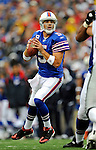 21 September 2008: Buffalo Bills' quarterback Trent Edwards in action against the Oakland Raiders at Ralph Wilson Stadium in Orchard Park, NY. The Bills defeated the Raiders 24-23 to mark their first 3-0 start of the season since 1992...Mandatory Photo Credit: Ed Wolfstein Photo