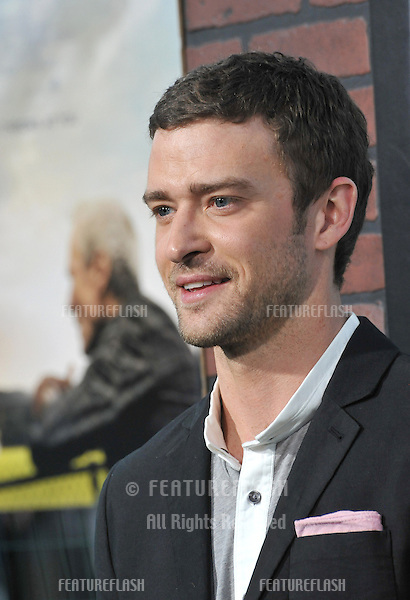 "Justin Timberlake at the premiere of his movie ""Trouble With The Curve"" at the Mann Village Theatre, Westwood..September 19, 2012  Los Angeles, CA.Picture: Paul Smith / Featureflash"