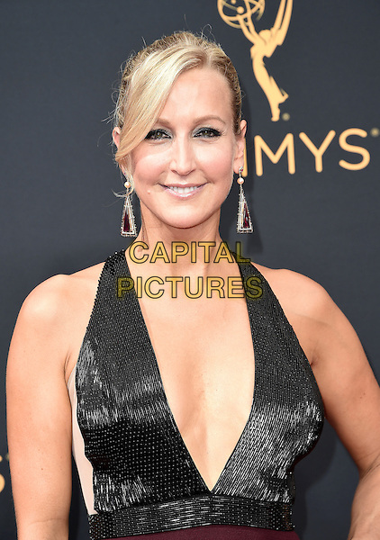 LOS ANGELES, CA - SEPTEMBER 18: Lara Spencer arrives at the 68th Emmy Awards at the Microsoft Theater on Sunday, September 18, 2016, in Los Angeles, California. <br /> CAP/MPI99<br /> &copy;MPI99/Capital Pictures