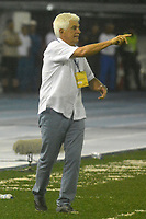 BARRANQUILLA -COLOMBIA ,20-07-2017.  Julio Comesaña director técnico del Atlético Junior durante encuentro contra el América de Cali  por la fecha 3 de la Liga Aguila II 2017 disputado en el estadio Metropolitano Roberto Meléndez de Barranquilla/ Julio Comesana coach of  Atletico Junior  during match agaisnt of America de Cali  for the date 3 of the Aguila League II 2017 played at Metropolitano Roberto Melendez in Barranquilla . Photo:VizzorImage / Alfonso Cervantes  / Cont