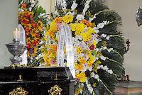 RIO DE JANEIRO, RJ, 11.06.2014 - VELORIO EX GOVERNADOR MARCELO ALENCAR - velório do corpo do ex-governador do Rio de Janeiro, Marcello Alencar, de 88 anos, no Palácio da Cidade, em Botafogo, na zona sul do Rio de Janeiro, na manhã desta quarta-feira (11). Alencar morreu na madrugada desta terça-feira (10), por complicações de saúde causadas por três AVCs. (Foto: Marcus Victorio / Brazil Photo Press).