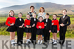 First place in the Rince Foirne went to Cill Chuimín pictured front l-r; Sarah Piggott, Doireann Dwyer, Caoimhe O'Halloran, Maeve O'Connor, Sadhbh O'Halloran, Michael Healy, Alison Piggott, Eimear O'Sullivan, back l-r; Norrie Sheehan & Leah Moynihan.