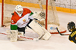 06.01.2020, BLZ Arena, Füssen / Fuessen, GER, IIHF Ice Hockey U18 Women's World Championship DIV I Group A, <br /> Deutschland (GER) vs Ungarn (HUN), <br /> im Bild Shot-Out, Lattentreffer durch Ronja Hark (GER, #8) gegen Zsofia Toth (HUN, #20)<br /> <br /> Foto © nordphoto / Hafner