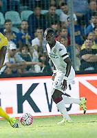 Afryie Acquah durante l'incontro di calcio di Serie A   Frosinone - Torino  allo  Stadio Matusa di   di Frosinone ,23 Agosto 2015