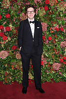 Ben Power<br /> arriving for the 2018 Evening Standard Theatre Awards at the Theatre Royal Drury Lane, London<br /> <br /> ©Ash Knotek  D3460  18/11/2018
