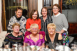 Enjoying a meal out at the Stone House restaurant, Tralee on Saturday night last were front l-r: Sheila O'Sullivan, Anne Buggy and Pat Clapham. Back l-r: Eleanor Carrick, Bridget Kerins Pat Enright and Mary O'Connor.