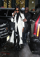 FEB 12 Naomi Campbell Seen In NYC