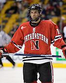 Kyle Kraemer (NU - 16) - The Northeastern University Huskies defeated the Harvard University Crimson 3-1 in the Beanpot consolation game on Monday, February 12, 2007, at TD Banknorth Garden in Boston, Massachusetts.