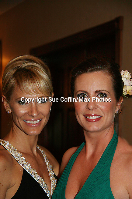 Kelley Hensley & Martha Byrne - ATWT at the benefit Angels for Hope which benefits St. Jude Children's Research Hospital on May 29, 2009 at the Estate at Florentine Gardens, Rivervale, NJ. (Photo by Sue Coflin/Max Photos)