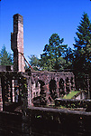 Jack London State Historic Park, ruins, Wolf House, SC3