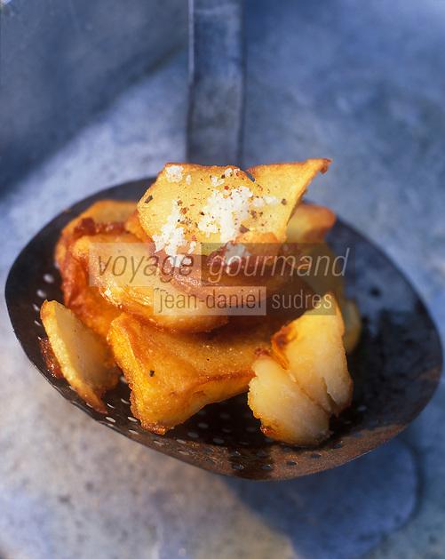 Gastronomie Générale: Pommes de terre sautées