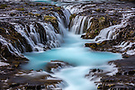 Brúarfoss waterfall, Iceland