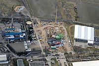 Industrie Bau: EUROPA, DEUTSCHLAND, MECKLENBURG- VORPOMMERN, (EUROPE, GERMANY), 23.03.2008:Hagenow, Industrie Bau, Dr. Raber Strasse, neben InfraTec Umwelttechnologie GmbH & Co. Heizkraftwerk Betriebs KG, Aufwind-Luftbilder, Luftbild, Luftaufname, Luftansicht.c o p y r i g h t : A U F W I N D - L U F T B I L D E R . de.G e r t r u d - B a e u m e r - S t i e g 1 0 2, .2 1 0 3 5 H a m b u r g , G e r m a n y.P h o n e + 4 9 (0) 1 7 1 - 6 8 6 6 0 6 9 .E m a i l H w e i 1 @ a o l . c o m.w w w . a u f w i n d - l u f t b i l d e r . d e.K o n t o : P o s t b a n k H a m b u r g .B l z : 2 0 0 1 0 0 2 0 .K o n t o : 5 8 3 6 5 7 2 0 9.C o p y r i g h t n u r f u e r j o u r n a l i s t i s c h Z w e c k e, keine P e r s o e n l i c h ke i t s r e c h t e v o r h a n d e n, V e r o e f f e n t l i c h u n g  n u r  m i t  H o n o r a r  n a c h M F M, N a m e n s n e n n u n g  u n d B e l e g e x e m p l a r !.