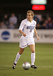 2 December 2005: UCLA's Mary Castelanelli. The UCLA Bruins defeated the Florida State Seminoles 4-0 in their NCAA Division I Women's College Cup semifinal at Aggie Soccer Stadium in College Station, TX.