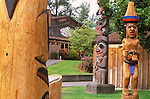 N.A., Canada, British Columbia, Vancouver Island, Duncan, Quw'tsun' Cultural Center