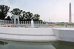 World War II Memorial, Washington Monument, National Mall, Washington DC