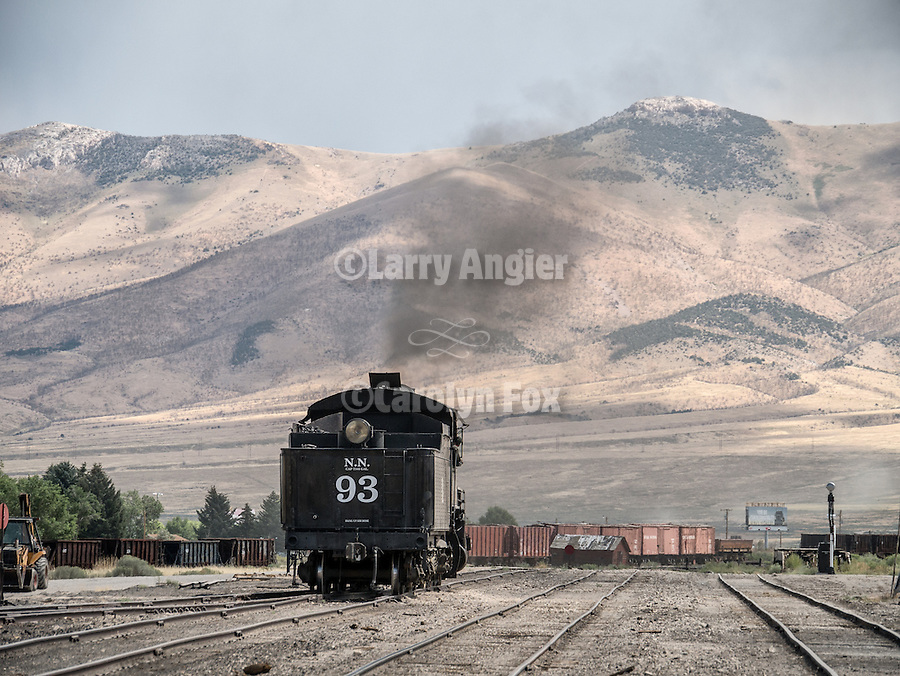 No. 93 In the yards of the Nevada Northern Railway, East Ely, Nev.