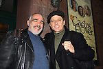 All My Children's Maxwell Caulfield (Ryan's Hope, Dynasty, The Colby's) stars with John Herrera in Cactus Flower at the Westside Theatre/Upstairs, New York City, New York on March 5, 2011. (Photo by Sue Coflin/Max Photos)