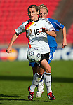 "Martina Muller was ""Player of the Match"" at Women's EURO 2009 in Finland Germany-Iceland, 08302009, Tampere, Ratina Stadium"