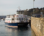 Trident Travel Ferry for Herm, St Peter Port, Guernsey, Channel Islands, UK
