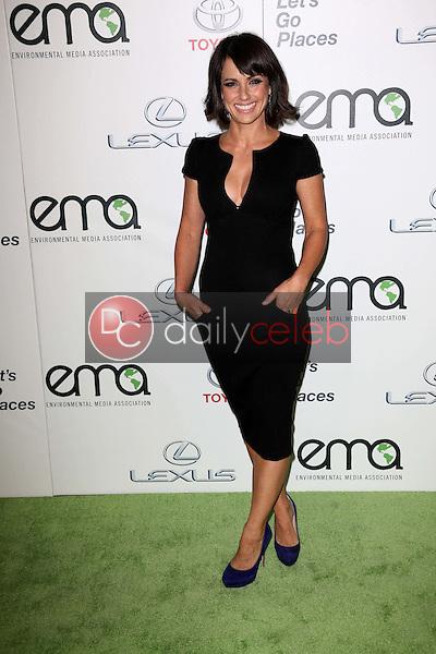 Constance Zimmer<br /> at the 23rd Annual Environmental Media Awards, Warner Brothers Studios, Burbank, CA 10-19-13<br /> David Edwards/DailyCeleb.Com 818-249-4998