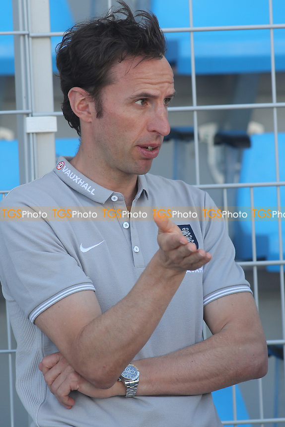England manager, Gareth Southgate - England Under-20 vs Colombia Under-20 - Toulon Tournament Group B Football at Lagrange Stadium, Toulon, France - 30/05/14 - MANDATORY CREDIT: Paul Dennis/TGSPHOTO - Self billing applies where appropriate - contact@tgsphoto.co.uk - NO UNPAID USE