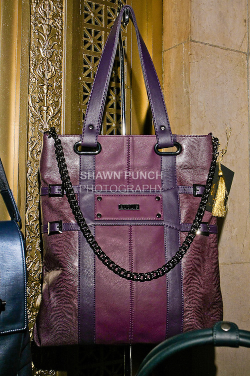 Gunas handbags by Sugandh, displayed during Nolcha Fashion Week Spring 2011, September 14, 2010.