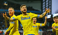 Leeds United's Mateusz Klich celebrates Pontus Jansson's equaliser<br /> <br /> Photographer Alex Dodd/CameraSport<br /> <br /> The EFL Sky Bet Championship - Aston Villa v Leeds United - Sunday 23rd December 2018 - Villa Park - Birmingham<br /> <br /> World Copyright &copy; 2018 CameraSport. All rights reserved. 43 Linden Ave. Countesthorpe. Leicester. England. LE8 5PG - Tel: +44 (0) 116 277 4147 - admin@camerasport.com - www.camerasport.com